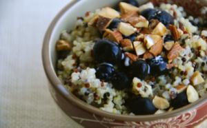 Receta quinoa con frutas