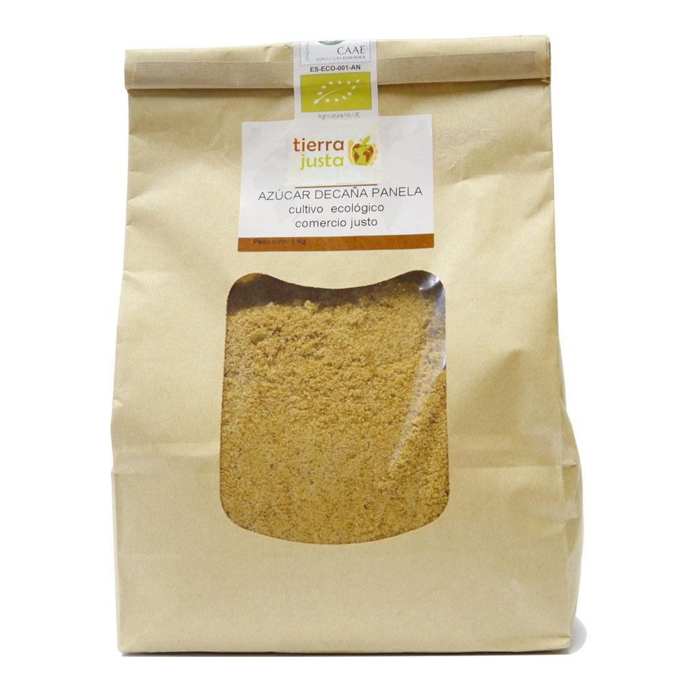Azúcar de caña panela Tierra Justa - Comercio justo