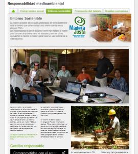 Leroy Merlín lanza en su web un especial Madera Justa en el que desarrolla las claves del proyecto de Alianza Público-Privada que ha ejecutado junto a la Fundación COPADE.
