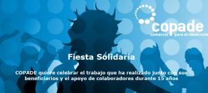 Fiesta Solidaria COPADE ¡15 años juntos!