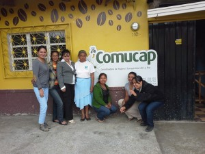 Cooperativa cafetalera COMUCAP