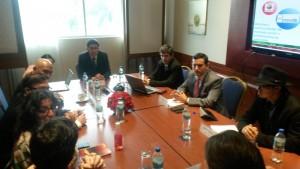 Reunión COPADE con Ministerio Comercio Exterior Ecuador
