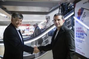 Miguel Calahorrano y Javier Fernandez. EFE/Luca Piergiovanni
