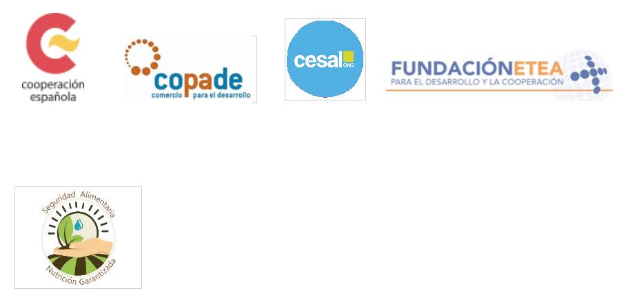 Este proyecto está liderado por CESAL, con la participación de ETEA y COPADE y la financiación de AECID.