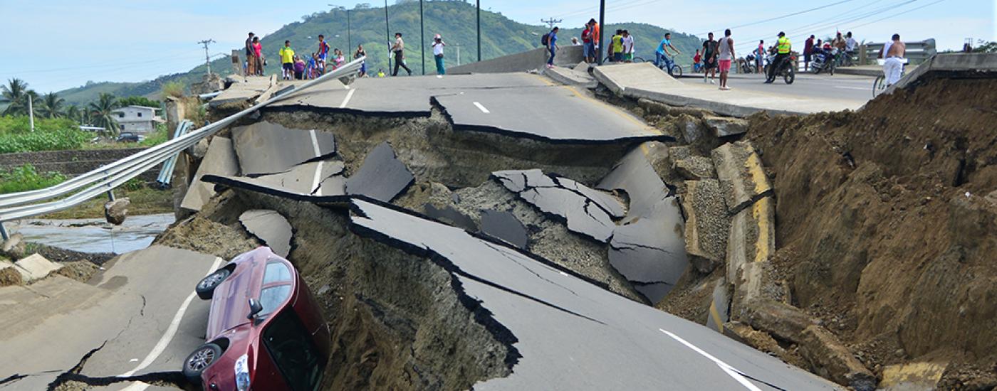 Terremoto en Ecuador. Foto: El Universo