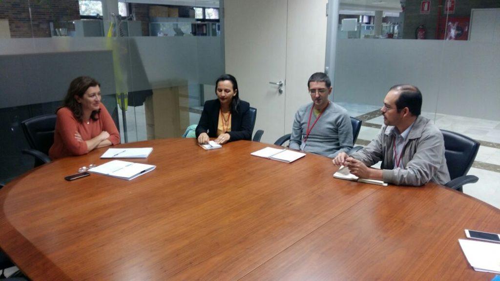 Reunión con la Directora del Instituto de Consumo del Ayuntamiento de Madrid.
