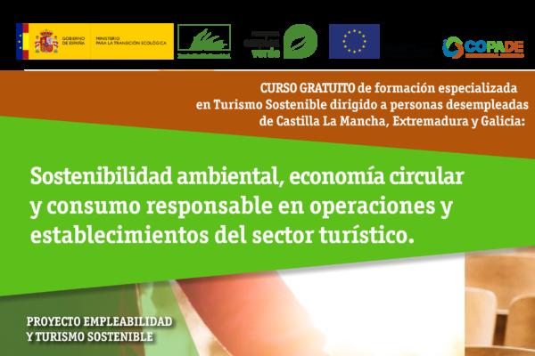 empleo y el turismo sostenible en Cáceres