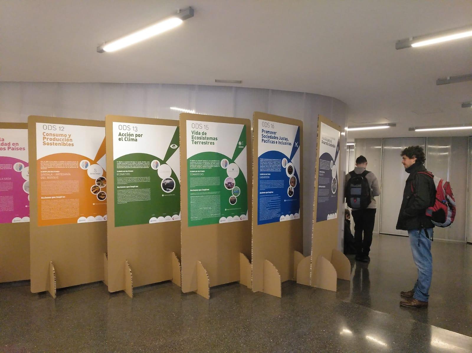 Exposición del proyecto Pymes y ODS