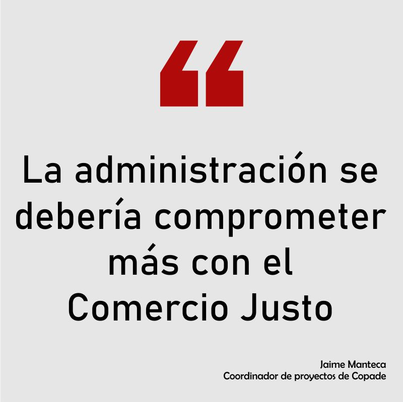 Cita de Jaime Manteca Coordinador de proyectos de Copade