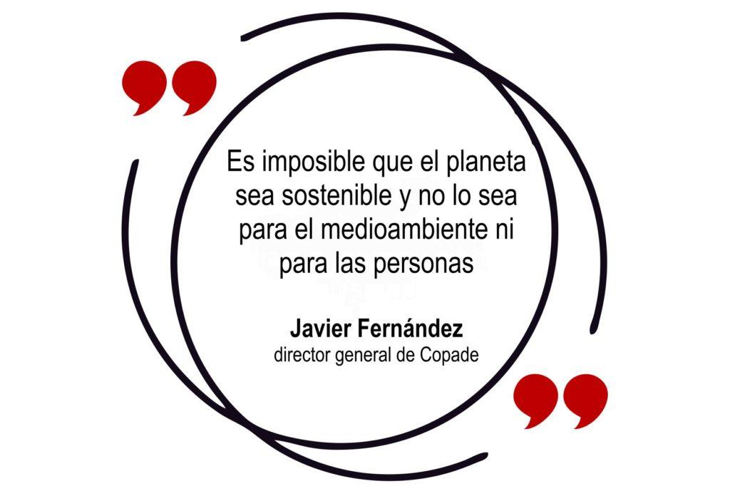 cita javier fernandez director general de Copade