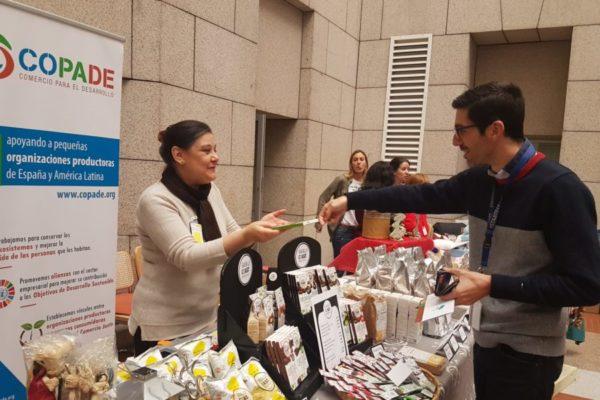 COPADE gestiona las ventas de productos de Comercio Justo, ecológicos y de economía solidaria