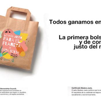Lo más justo para el planeta = Esta bolsa