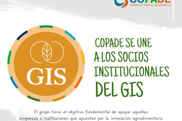 COPADE se une a los socios institucionales del GIS